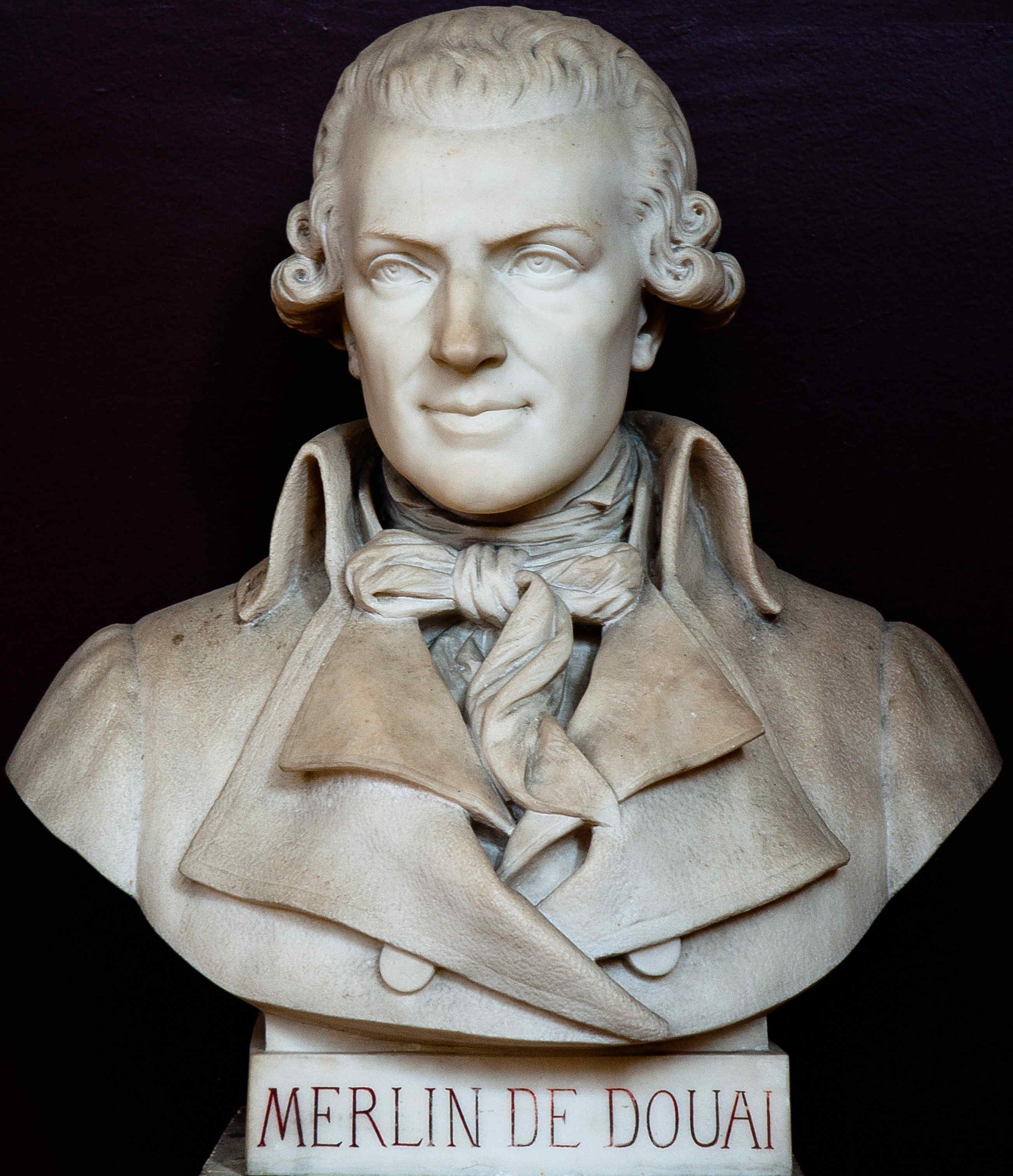 Merlin de Douai, Buste du Musée du Jeu de Paume, D. R.